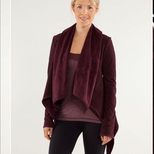 Lululemon Presence Of Mind Waterfall Cardigan